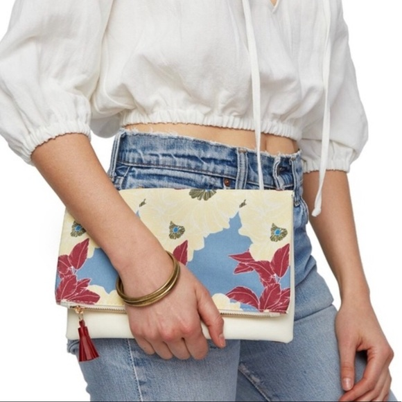 Rachel Pally Handbags - NWOT Rachel Pally Reversible Clutch Purse